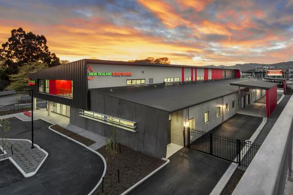 De Nada Creative NZ Blood Service Bridge Sunrise3
