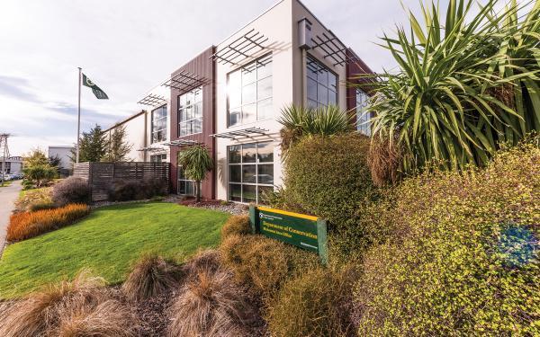 Department of Conservation Christchurch